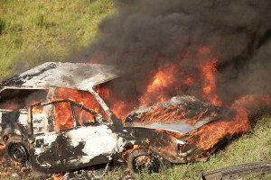 Foto: Unfall Totalschaden